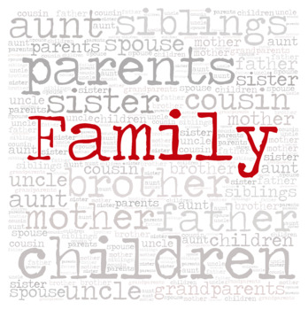 Library Sign: FAMILY