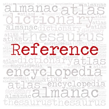 Library Sign:  REFERENCE