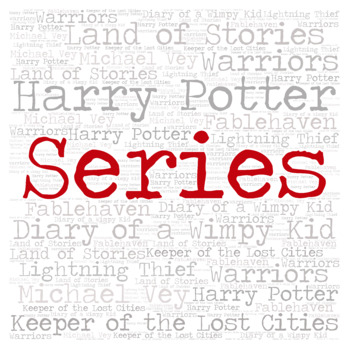 Library Sign: SERIES
