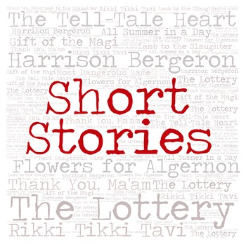 Library Sign:  SHORT STORIES