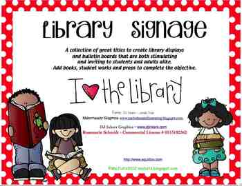Library Signage