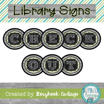Library Signs: Boys Will Be Boys Varied Backgrounds Circulation Signs
