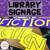Library Signs (Signage)