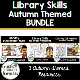Library Skills Autumn/ Fall Themed BUNDLE