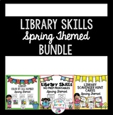 Library Skills BUNDLE- Spring Themed