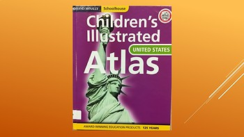 Library Skills: Children's Illustrated Atlas Search Activity