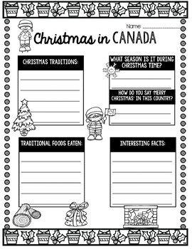 Library Skills Christmas Activity BUNDLE