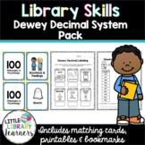 Library Skills- Dewey Decimal System Pack