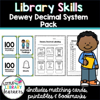 image regarding Dewey Decimal System Printable Bookmarks named Library Abilities- Dewey Decimal Course of action Pack