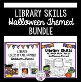 Library Skills Halloween Themed BUNDLE