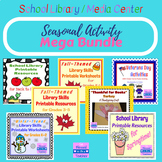 Library Skills Mega Bundle - Seasonal Resources