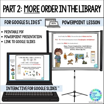 Library Skills PowerPoint PART 2 More Fiction and Nonfiction Dewey Decimal Order