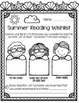 Library No Prep Printables- Summer Themed