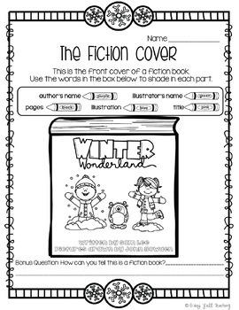 Library No Prep Printables Winter Themed