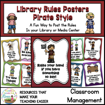 Library Rules Pirate Style