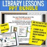 Library Skills Lessons HUGE BUNDLE for Google Slides™ and