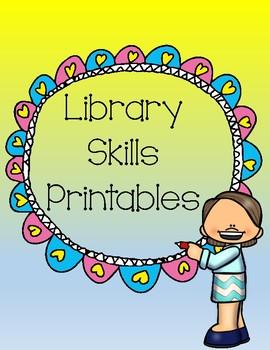 Library Skills Printables