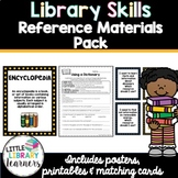 Library Skills- Reference Materials Pack