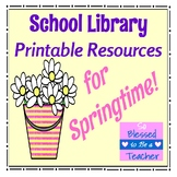 Library Skills Printable Resources for Spring