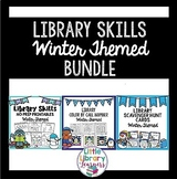Library Skills Winter Themed BUNDLE