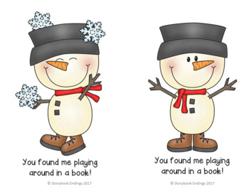 Library Snowman Hunt
