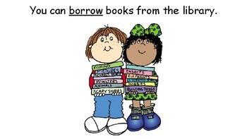 Library Social Story