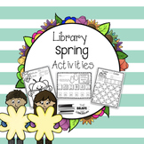 Library Spring Themed Activities