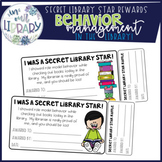 Secret Library Star Rewards: Behavior Management in the Library!