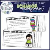 Secret Library Star Rewards: Behavior Management in the Library!