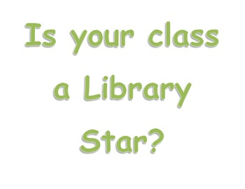 Library Stars! Headings