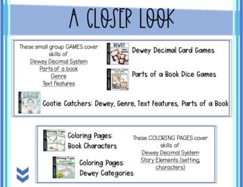 Library Starter Kit BUNDLE #2 for the Elementary School Library/Media Center
