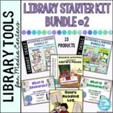 Library Starter Kit BUNDLE #2 for the Elementary School Library Media Center