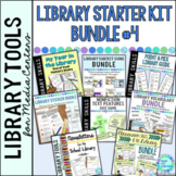 School Library Skills Lessons and Tools Starter Kit BUNDLE #4