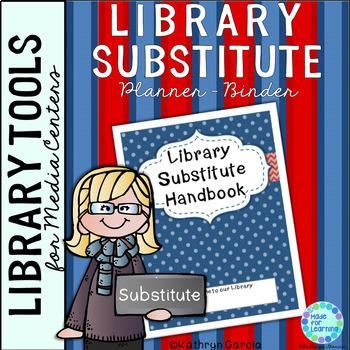 Library Substitute Handbook Binder