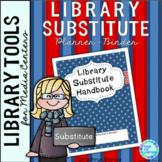 Library Substitute Planner Binder