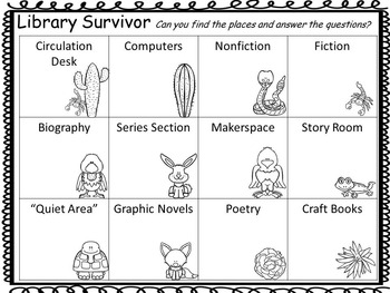 Library Survivor Desert Edition