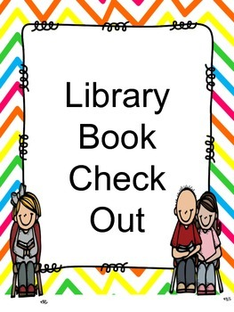 Library System Check Out Freebie