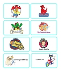 Library Tags - Picture Books (Characters & Series)