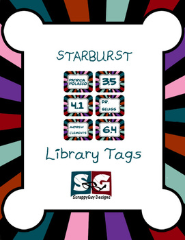 Library Tags - Starburst