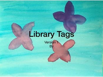 Library Tags Watercolor V2