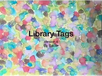 Library Tags Watercolor V4