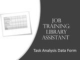 Library Task Analysis/ Data