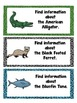 Library Research Task Cards for Science Endangered Animals