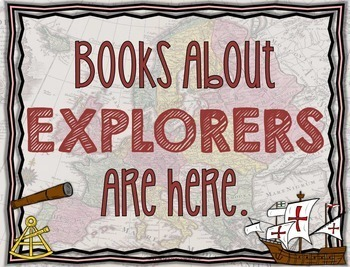 Library Skills: Task Cards for Social Studies Research: Explorers