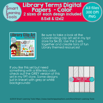 Library Terms Digital Papers - Color
