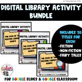 Library Title Detectives Bundle [Digital Activity for Dist