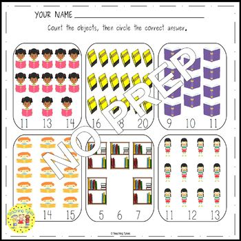 Library Worksheets Activities Games and More