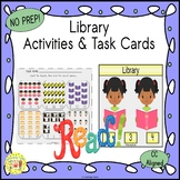 Library Activities and Task Cards