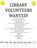 Library Volunteer Flyer