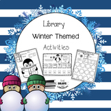 Library Winter Themed Activities
